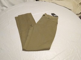 Hurley Boy's Youth jeans 12 28 bamboo brown pants '84 slim fit khaki 144... - $29.99