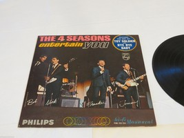 The 4 Seasons Entertain you Toy Soldier Bye Bye Baby LP RARE cover recor... - $29.99