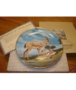 Bradford Exchange The Horned Gazelle  plate w/cert/box - $14.99