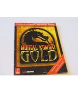Mortal Kombat Gold Prima Publishing Staff RARE GAME GUIDE STRATEGY strat - $53.39
