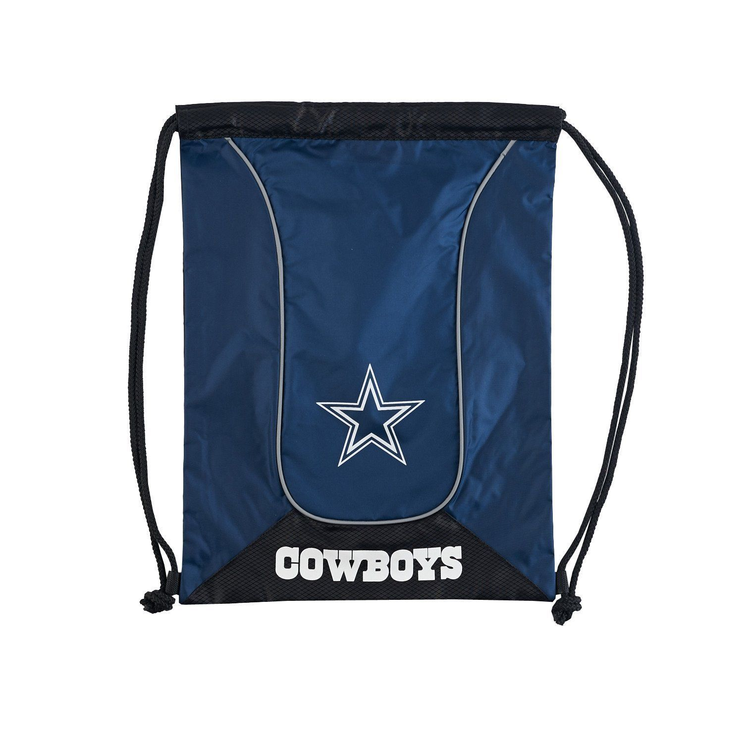 DALLAS COWBOYS DOUBLEHEADER BACK SACK PACK SCHOOL GYM BAG NFL FOOTBALL