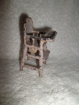 Vintage 1928+ Kilgore Cast Iron Toy PINK HIGH C... - $29.70