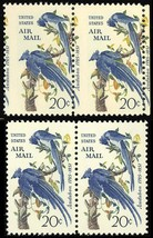 C71 Misperforated ERROR Pair - 20¢ Airmail Stamp - Mint NH - Stuart Katz - $30.00