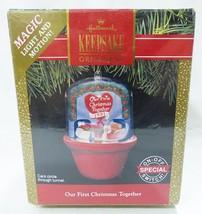 Hallmark keepsake christmas ornament our first christmas together handcr... - $9.89