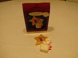 RARE ornament Hallmark 1993 Star Teacher photo Holder can be personalized - $9.59