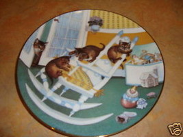 Rock and Rollers  Hamilton Country kitties plate - $11.99