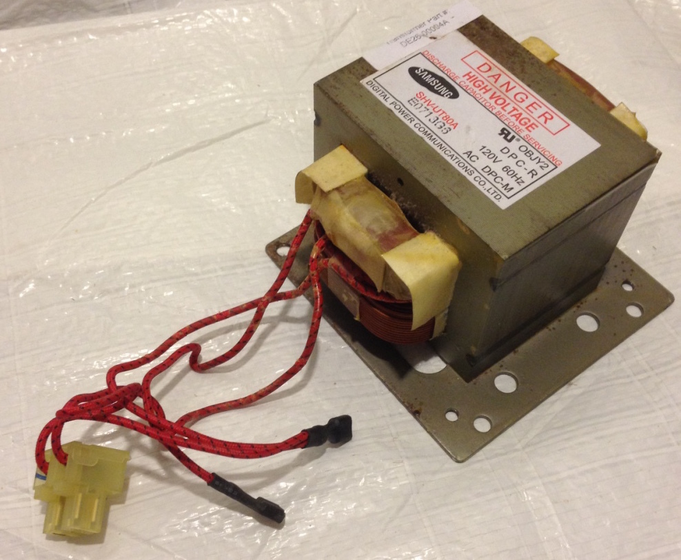 Primary image for Maytag Amana High Voltage Transformer DE26-00094A