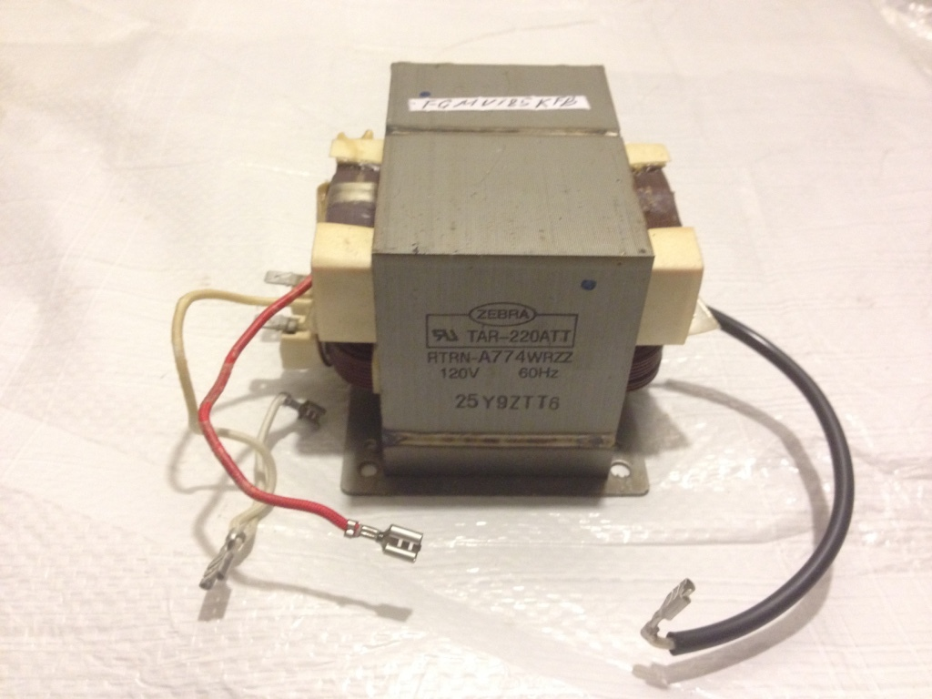 Sharp Microwave OEM High Voltage Transformer RTRN-A774WRZZ - $49.00