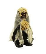 Walking Talking Light Up Animated Demon Skeleton Halloween Decoration Fl... - $14.01