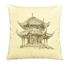 Vietsbay Beijing Summer Palace Printed Pillows Cover Cushion Case VPLC - €11,01 EUR