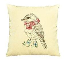 Vietsbay Bird in Scarf Boots Printed Pillows Cover Cushion Case VPLC - €11,01 EUR