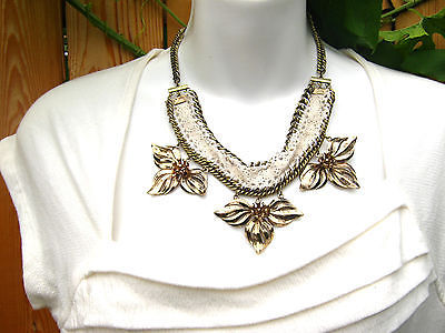 e13843f501fa2a Anthropologie Gaura Bib Necklace NWT and 50 similar items. 1