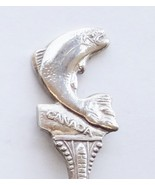 Collector Souvenir Spoon Canada BC Salmon Arm F... - $14.99