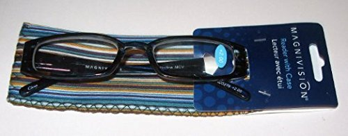 "Magnivision Readers with Case +1.50 ""Skyline"" Dark Blue"