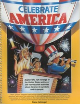 CELEBRATE AMERICA:WITH 200 REPRODUCIBLE ACTIVITIES-LAND,SYMBOLS,PEOPLES;... - $11.99