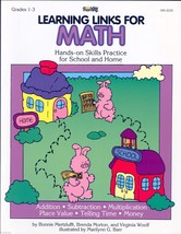 LEARNING LINKS FOR MATH by Bonnie Mertzluff;Hands on Skills Practice for... - $11.99