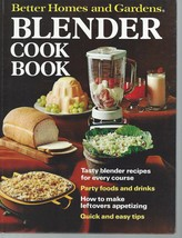 Better Homes and Gardens Blender Cook Book-PARTY DRINKS;1971 HC;1st Ed.,... - $9.99