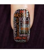 Coffee Barista Custom Nails - $14.99