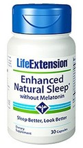 Life Extension Enhanced Natural Sleep without M... - $15.67