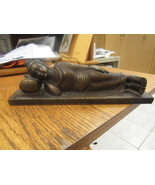 Cast Bronze Reclining  Buddha - $250.00