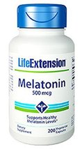 Life Extension Melatonin 500 Mcg, 200 V capsules - $14.69