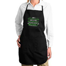 Supermarket Plays Great Music New Apron Gifts Events Parties Aging Humor - $19.99