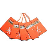 Tags For Handmade Products 4 Pk Square Orange - $3.75