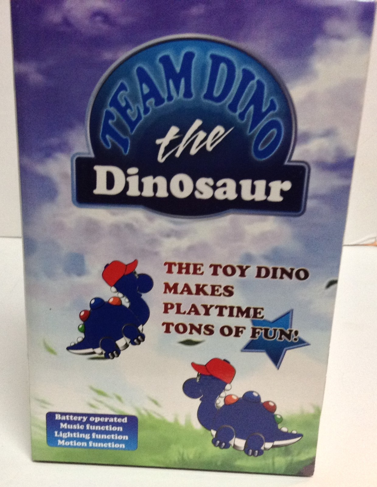New York Mets Collectible Toy NIB Team Dino the Dinosaur Sports