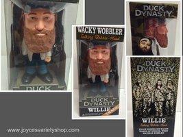 Duck Dynasty Talking Bobble Head by Funko Willie NIB - $9.99