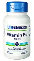 Life Extension Vitamin B6 250 Mg, 100 V Caps - $13.71