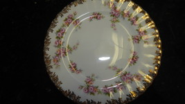 Royal Albert Dimity Rose Side Plates bone China England Free Shipping # - $99.99