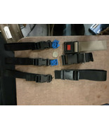 """20ZZ38 ASSORTED NYLON STRAP DISCONNECTS: (3) 1"""" +/-, (3) 1-1/2"""" +/-, VER... - $10.79"""