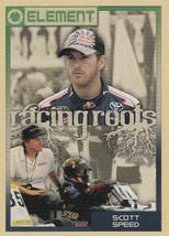 Scott Speed 2010 Press Pass Element Racing Roots Card #95 - $0.99
