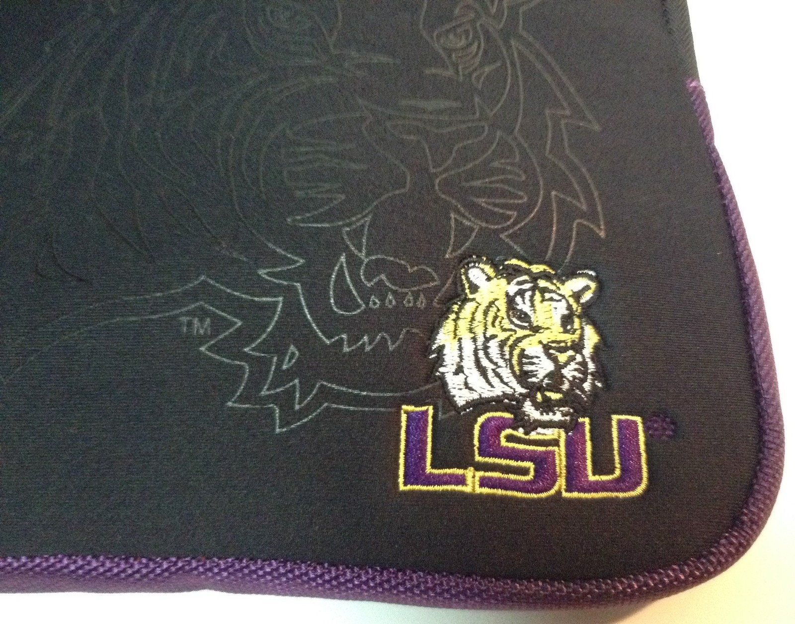 LSU University Tablet Ipad Laptop Protection Case by Fanatic NWT
