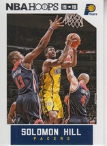 Solomon Hill 2015-16 Panini NBA Hoops Card #218 - $0.99
