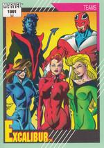 Excalibur 1991 Marvel Comics Card #155 - $0.99