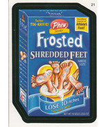 Frosted Shredded Feet 2006 Topps Wacky Packages Card #21 - €0,90 EUR