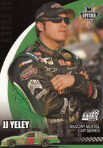 J.J. Yeley 2006 Press Pass Optima Rookie Card #16 - $0.99