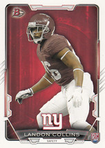 Landon Collins 2015 Bowman Rookie Card #38 - $0.99