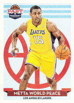 Metta World Peace 2012-13 Panini Past & Present Card #133 - $0.99