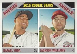 Rafael Ynoa/Jackson Williams 2015 Topps Heritage Rookie Stars Card #306 - $1.28