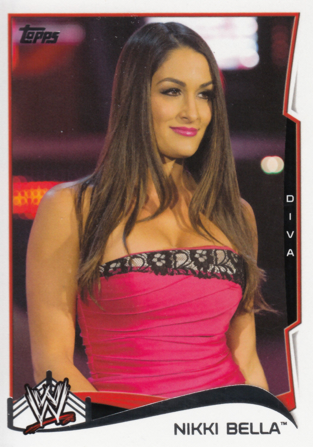 Nikki Bella 2014 Topps WWE Card #35 - Wrestling Cards
