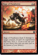 Magic The Gathering Rage Of Purphoros Foil Card #137/249 - $0.99
