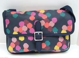 Fossil Key Per Navy Multi Color Mini Dot Crossbody NWT - $39.99