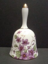 Lefton China Bell 1991 Violets, 00275 - $4.99