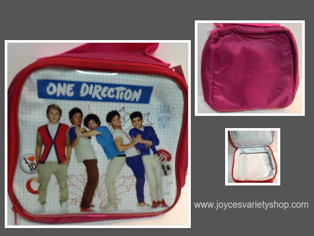 One direction purple cooler collage