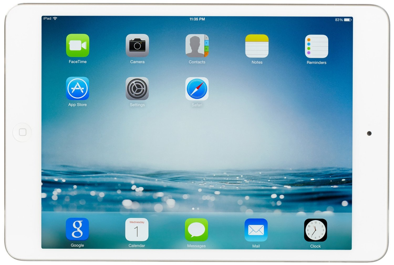 Apple iPad mini 2 with Retina Display ME279LL/A (16GB, Wi-Fi, White with Silver) - $299.99