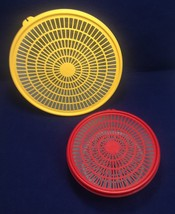 Tupperware Colander (2 sizes), 1830-5 and 1835-3 with lids - $17.95