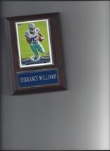 Terrance Williams Plaque Dallas Cowboys Football Nfl - $0.01