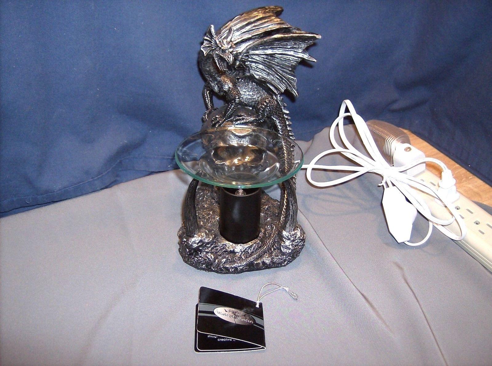 Dragon oil warmer hd39465 obsidian magma abc essential oils diffusers - Dragon oil warmer ...
